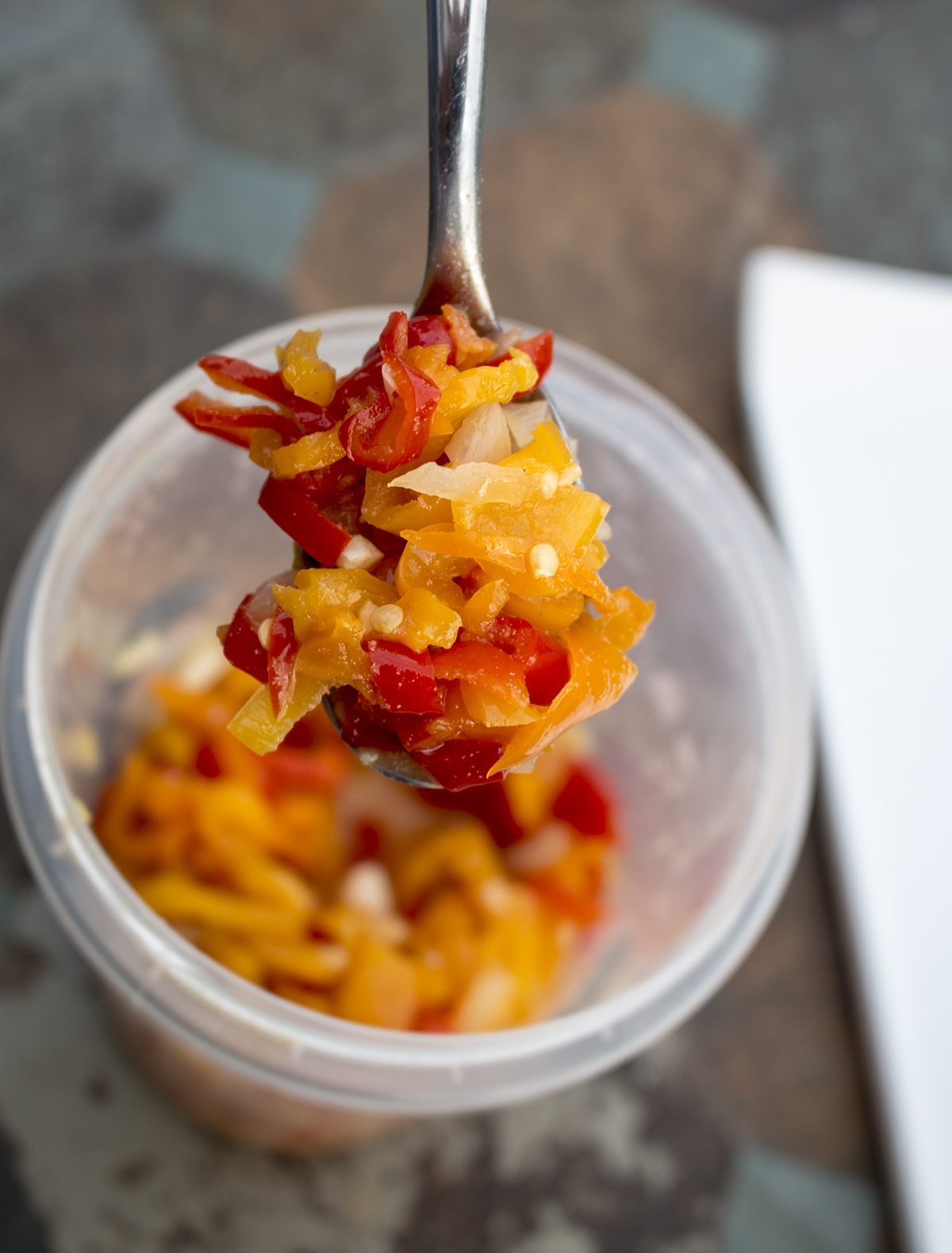 Homemade Sweet Pepper Relish