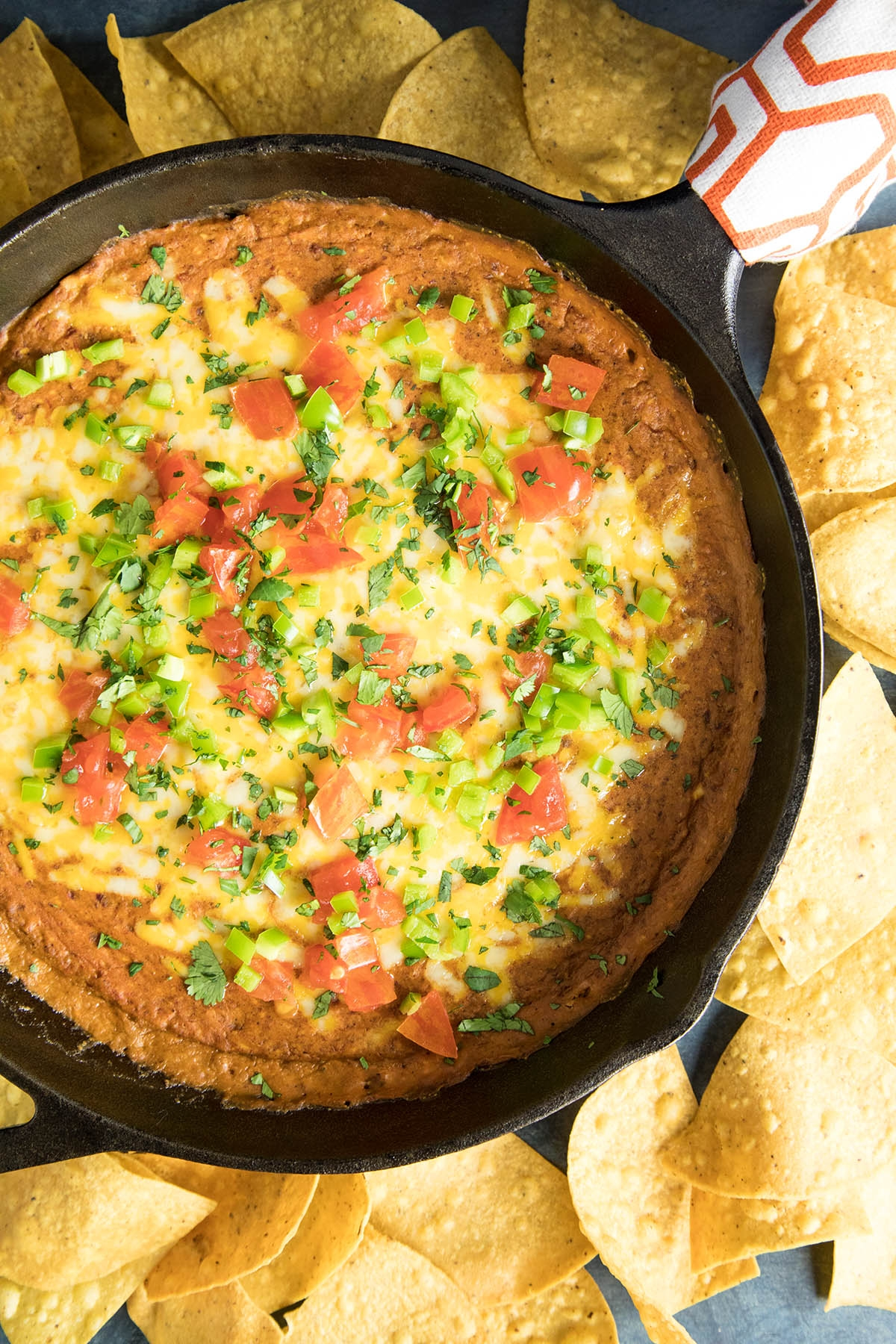 Easy Cheesy Chipotle Bean Dip