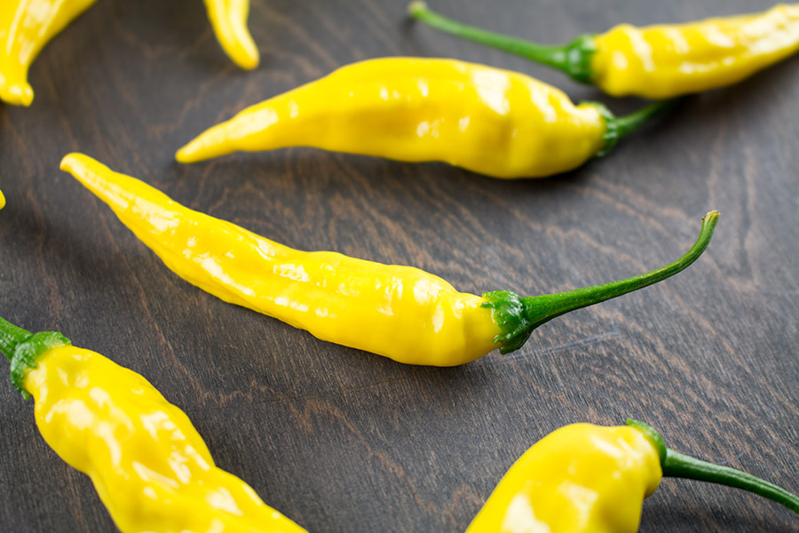 Aji Pineapple Chili Peppers