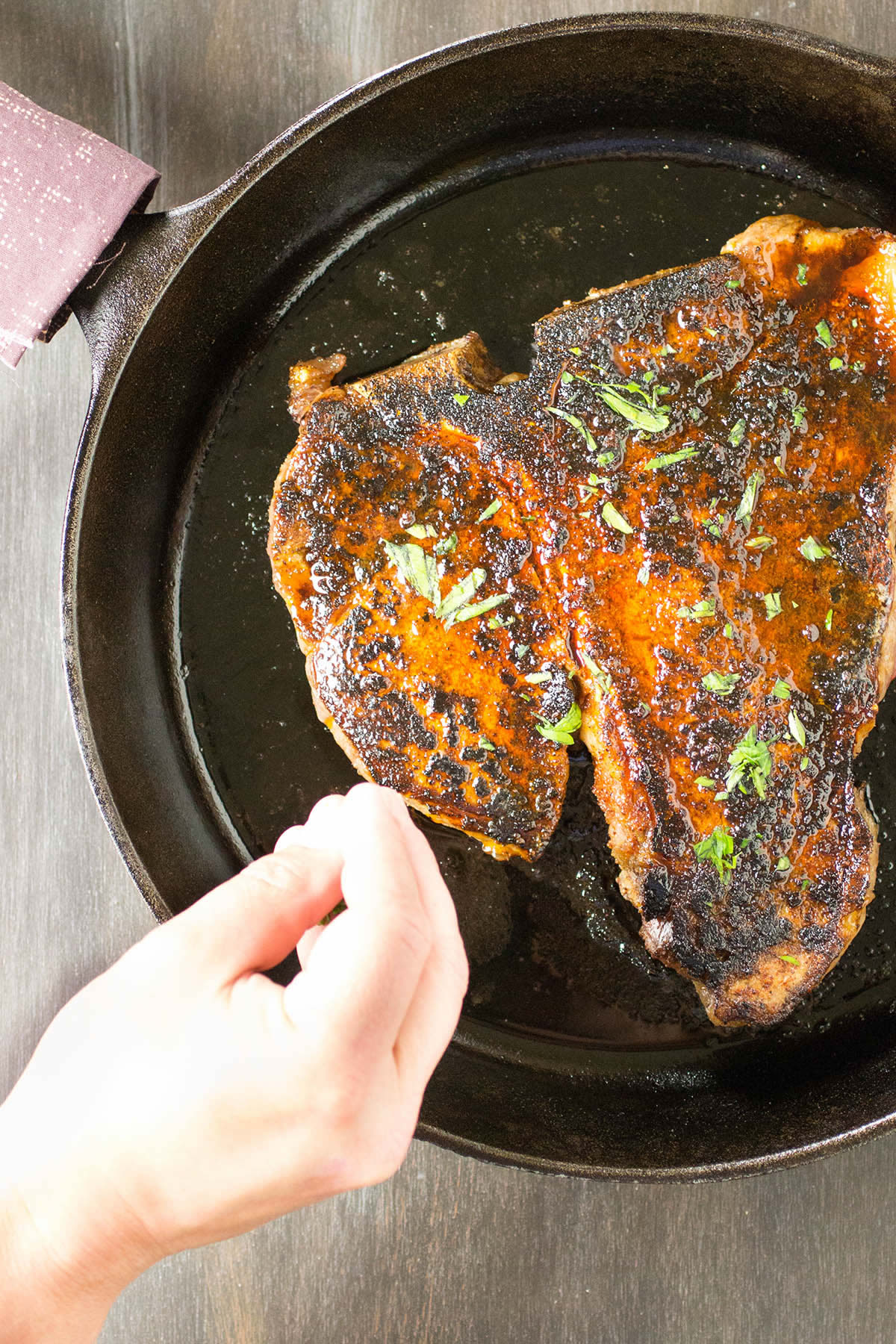 Ancho Crusted Porterhouse Steak - Recipe