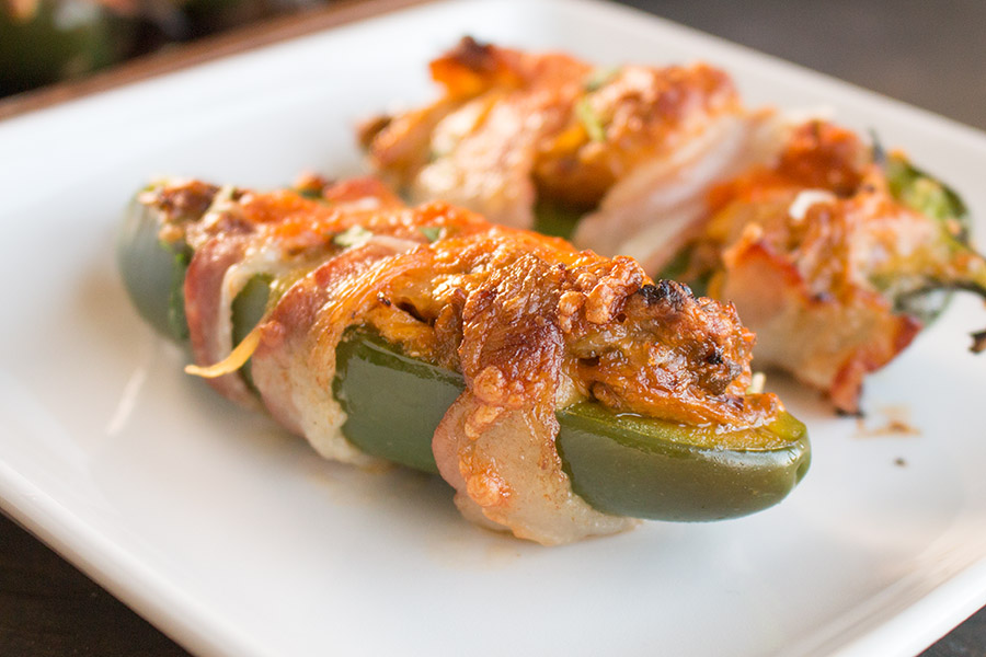 Bacon Wrapped Jalapeno Poppers Are the Perfect Party Food