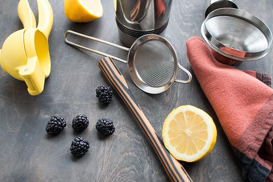 Blackberry Elderflower Cocktail Recipe