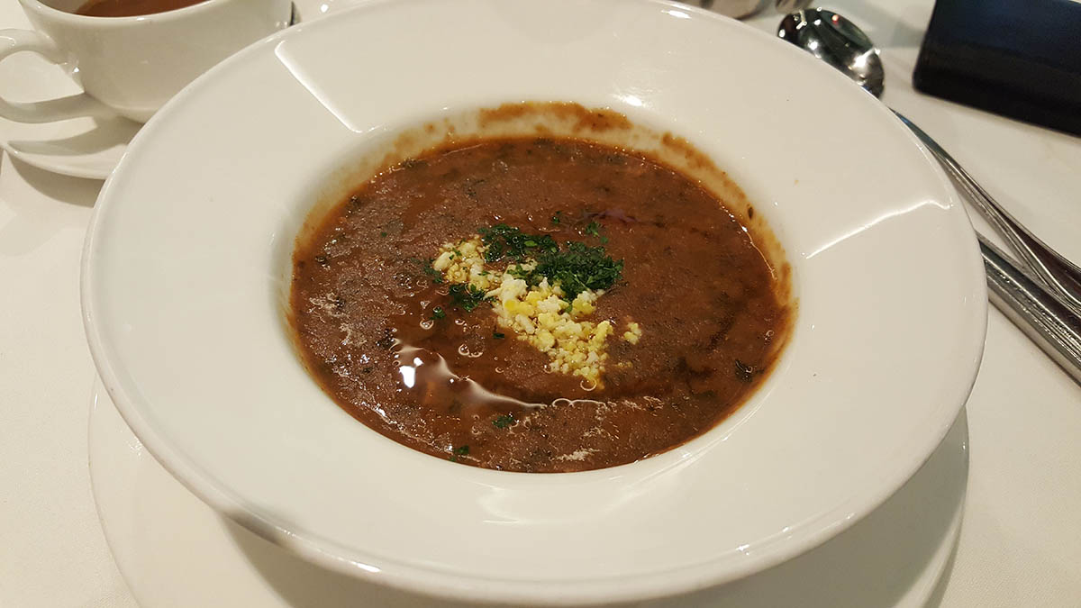 Brennan's in New Orleans, LA - Turtle Soup