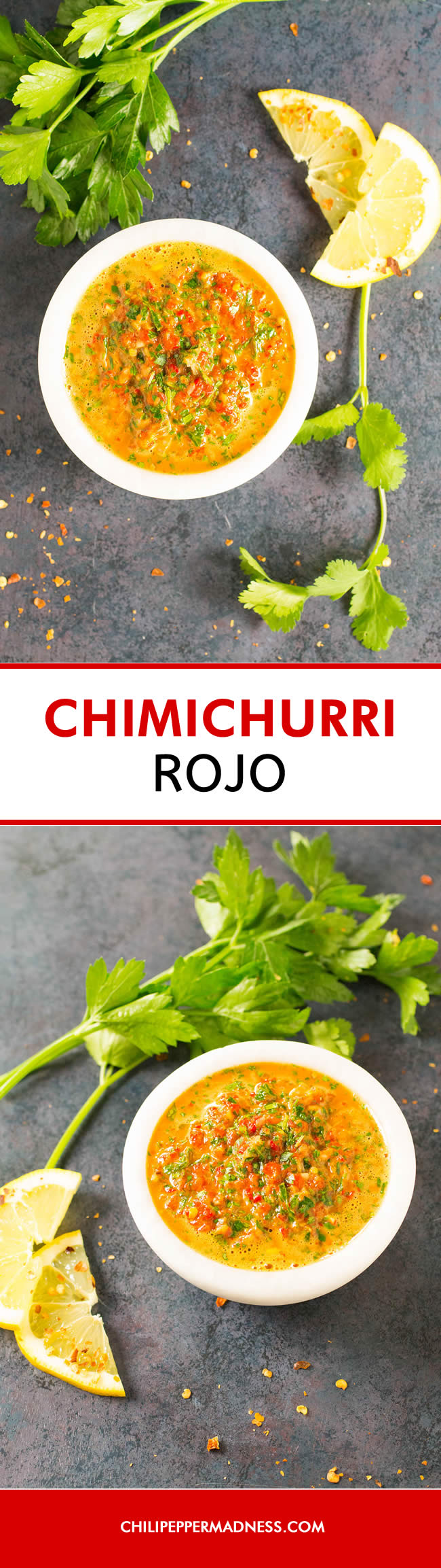 Easy Chimichurri Rojo (Red Chimichurri) - Recipe