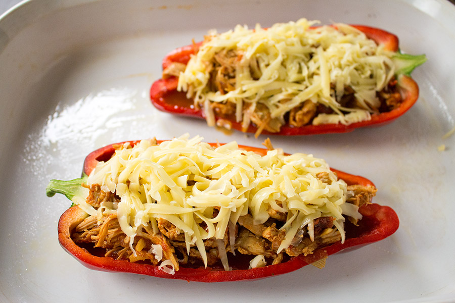 Chipotle Chicken Stuffed Peppers – Recipe