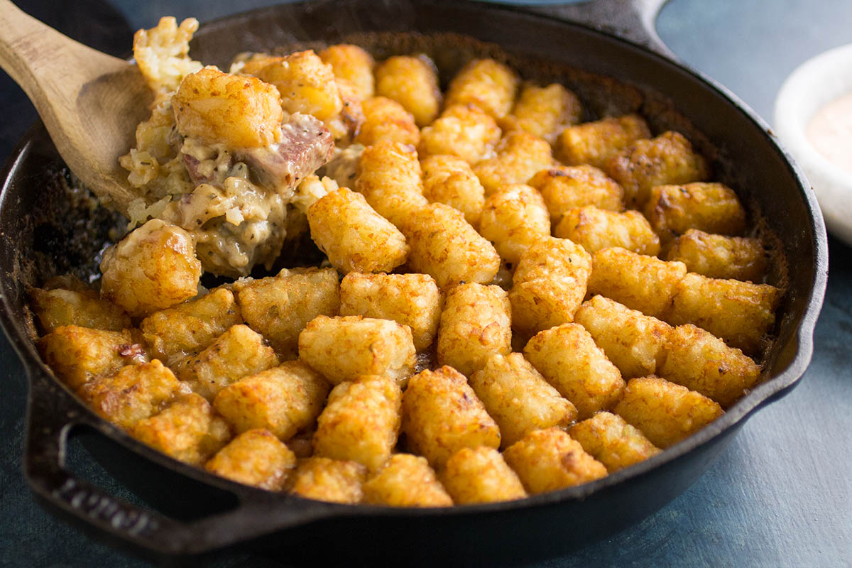 Corned Beef Tater Tot Hotdish (Casserole) – Recipe