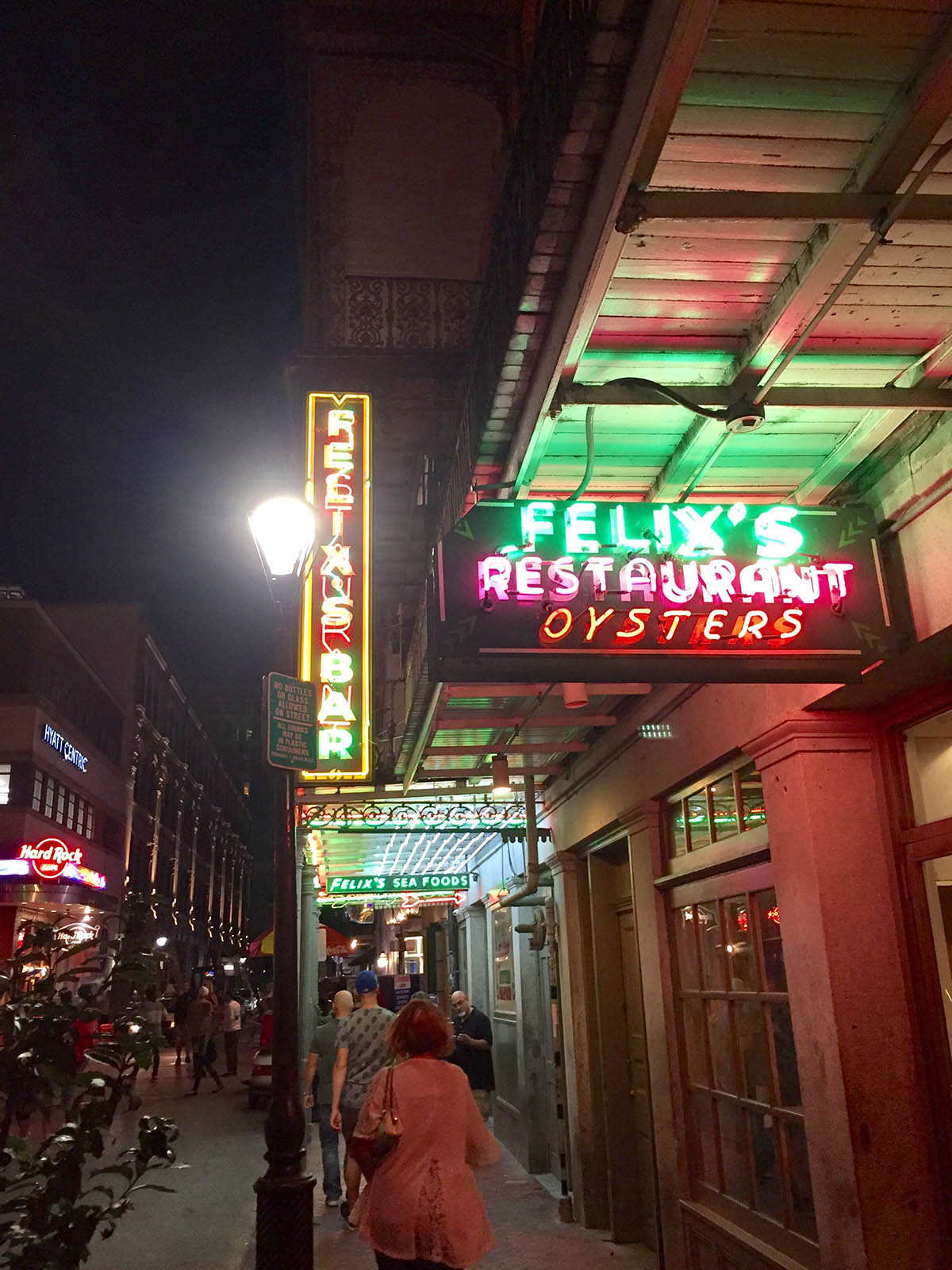Felix's Restaurant and Oyster Bar in New Orleans, LA