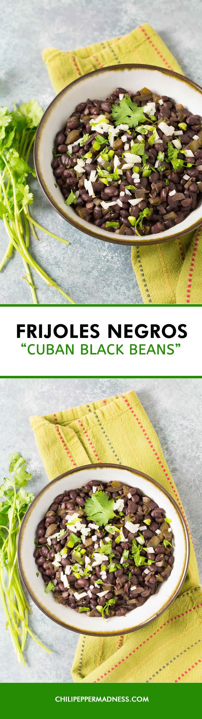 Frijoles Negros - Cuban Black Beans