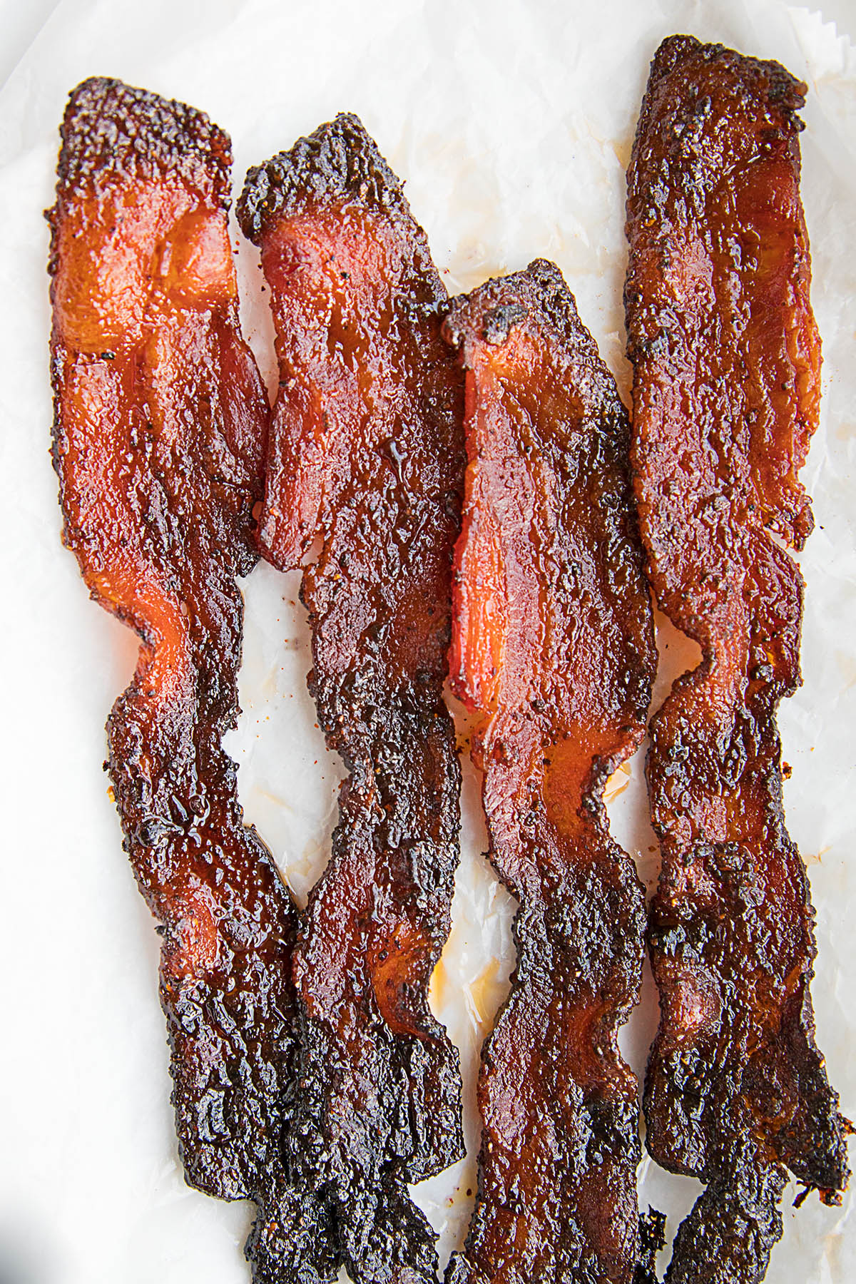Sweet and Spicy Ghost Pepper Candied Bacon