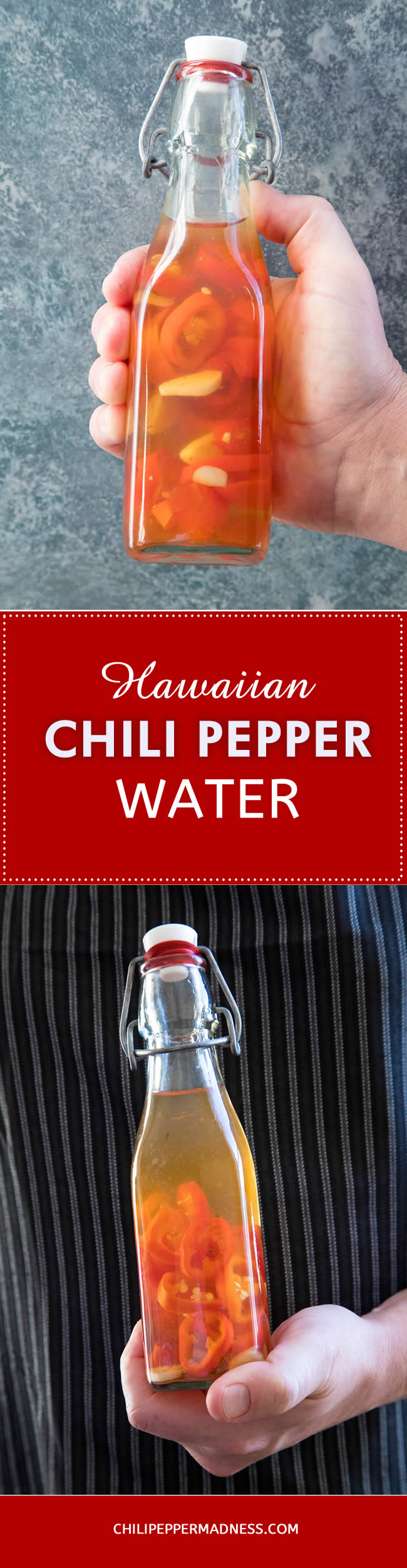 Hawaiian Chili Pepper Water - Recipe