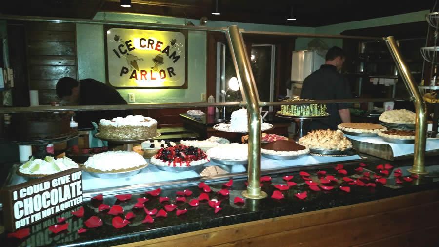 The Dessert Table in the Haye Loft