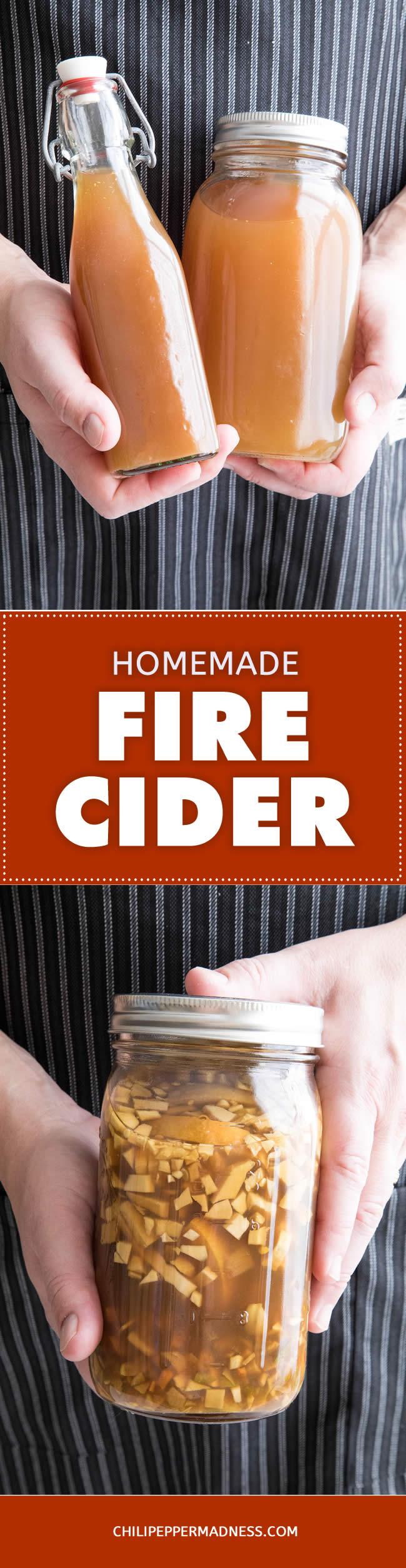 Homemade Fire Cider - Recipe