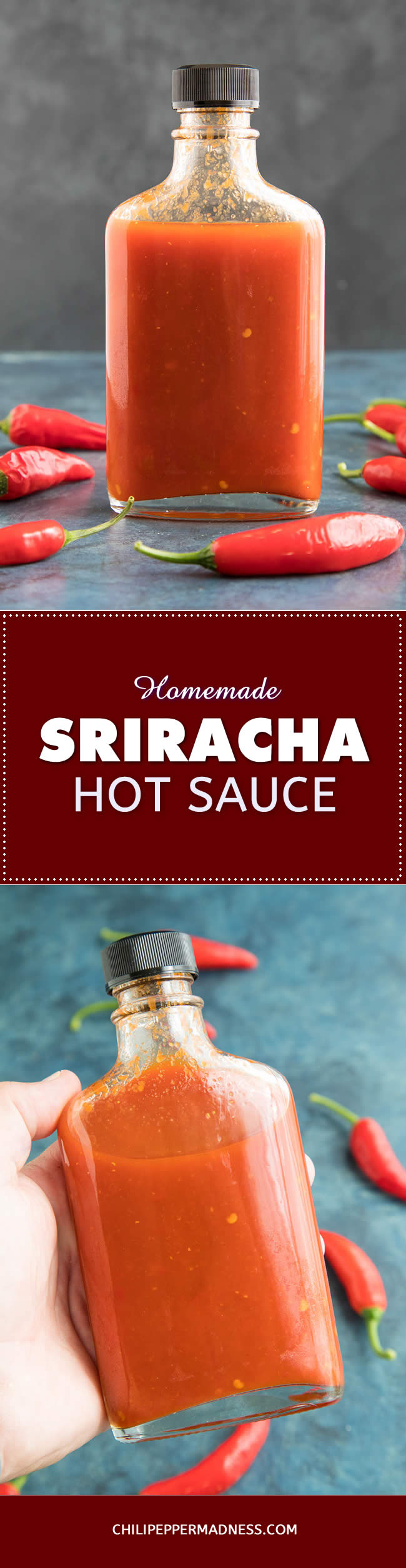 Homemade Sriracha Hot Sauce - Recipe