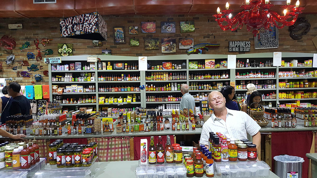 Hot Sauce in New Orleans