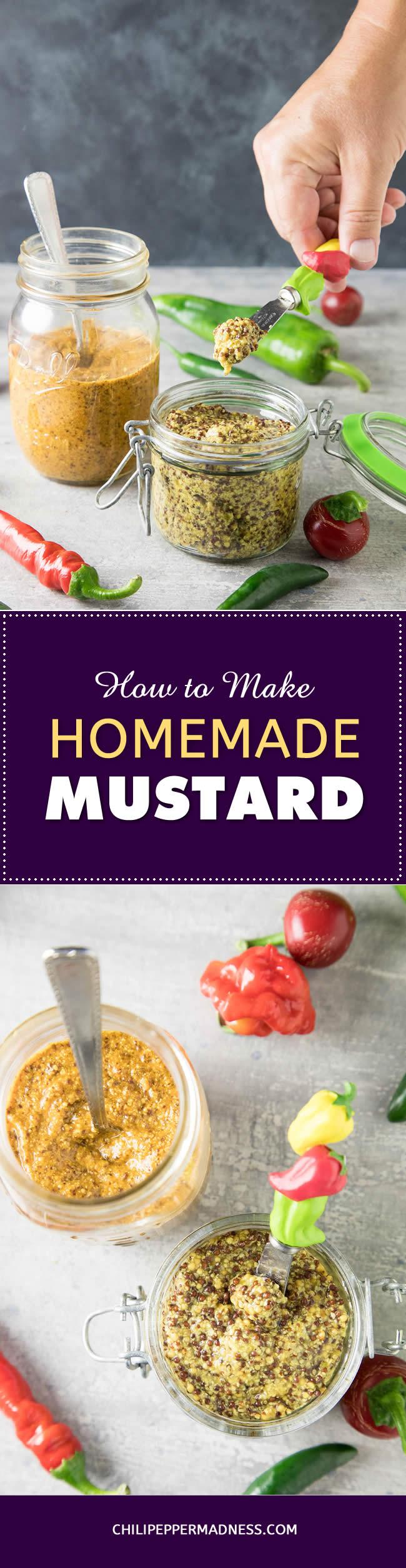 How to Make Homemade Mustard – the Basics - Recipe