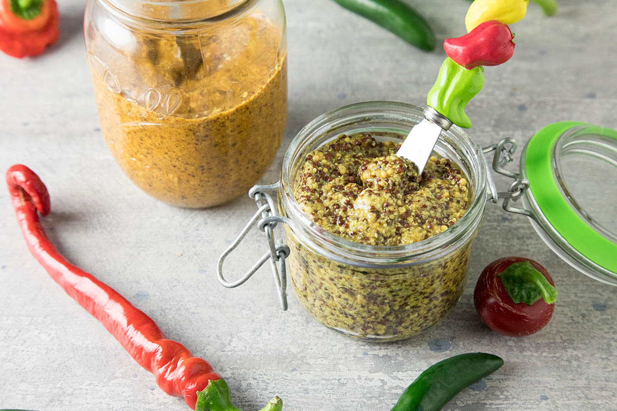 How to Make Homemade Mustard – Learn How with Chili Pepper Madness.