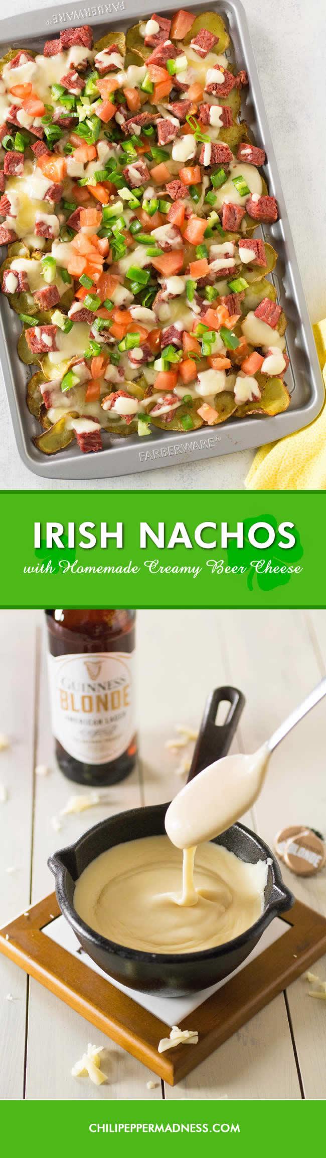 Irish Nachos with Homemade Beer Cheese - Recipe