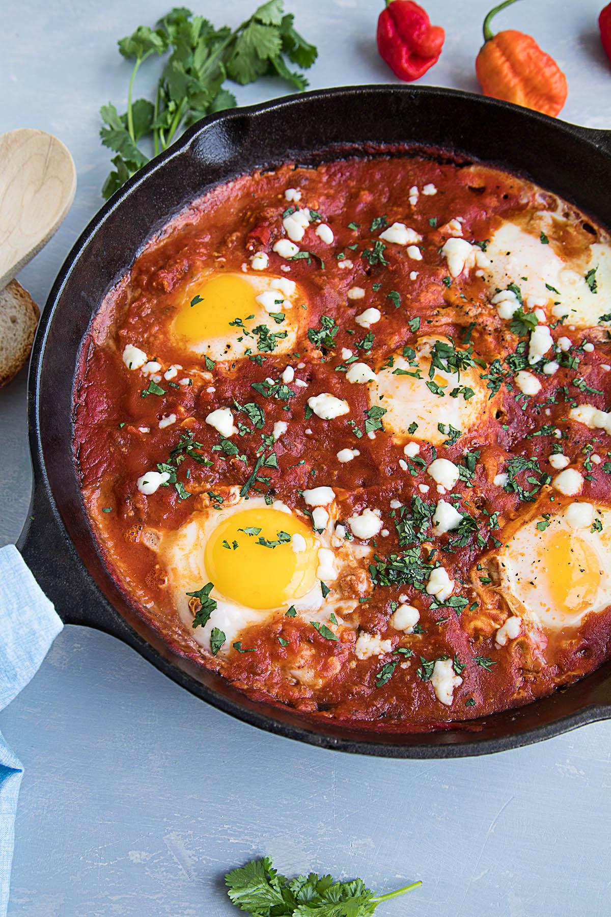 Jacked-Shuka (Extra Spicy Eggs in Hell) - Recipe