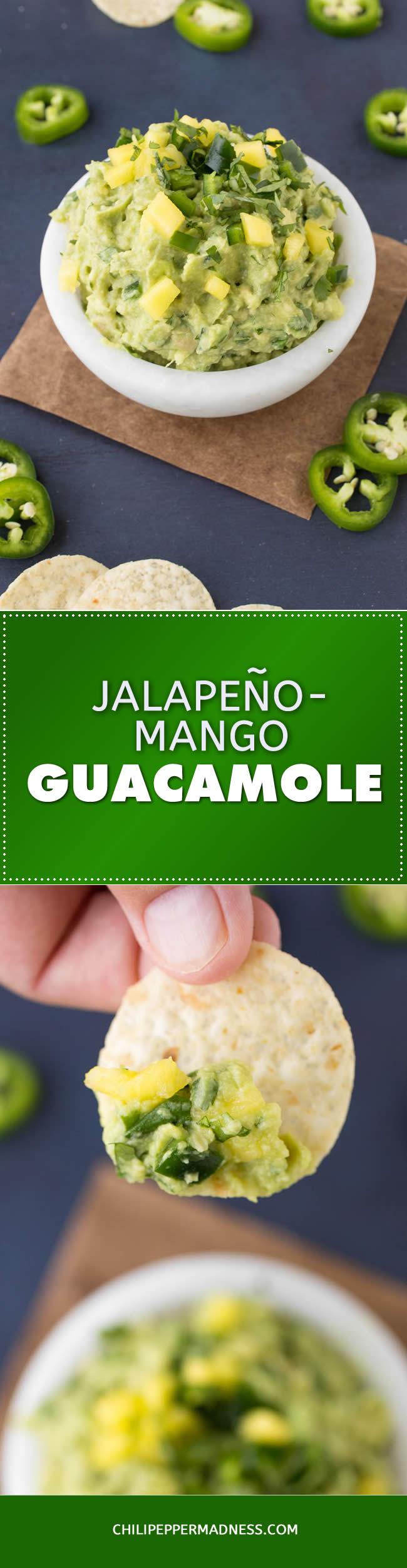 Jalapeno-Mango Guacamole - Recipe