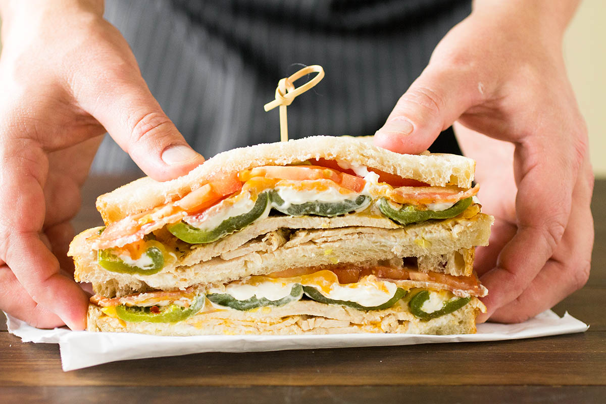 Cheesy Jalapeno Popper-Turkey Sandwiches – Recipe