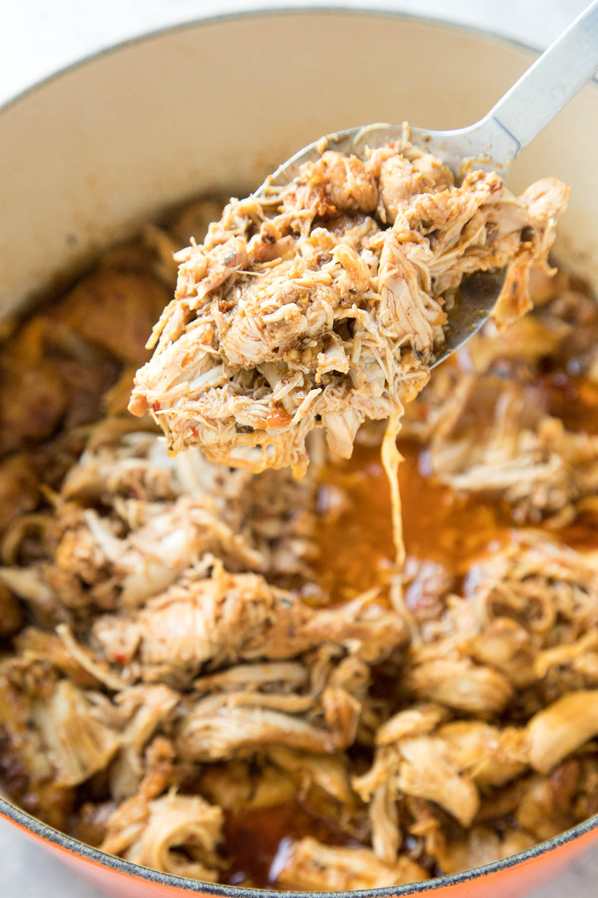 The Juiciest Shredded Chicken – Recipe
