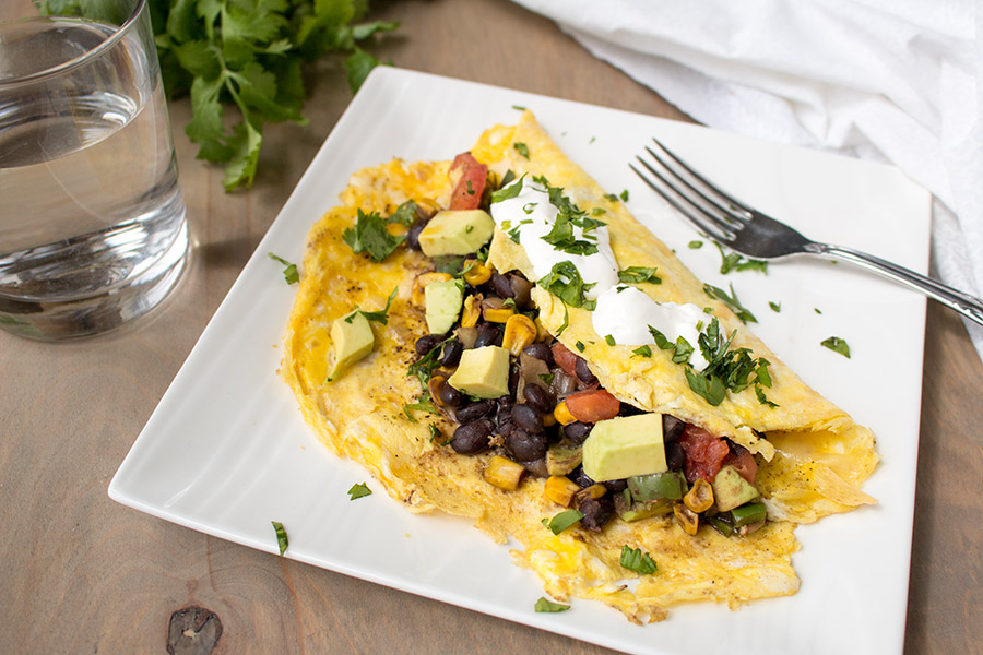 Loaded Mexican Omelette – Recipe