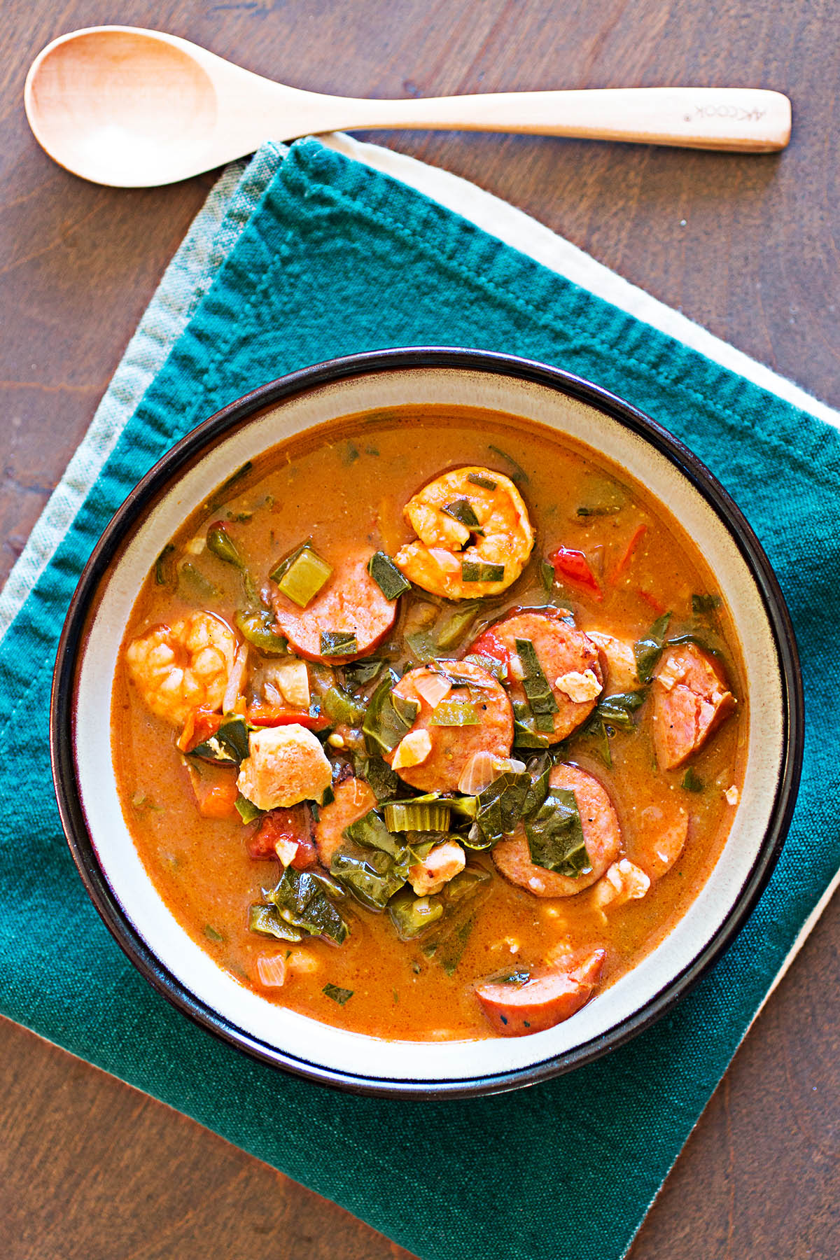 Mike's Spicy Gumbo - Recipe