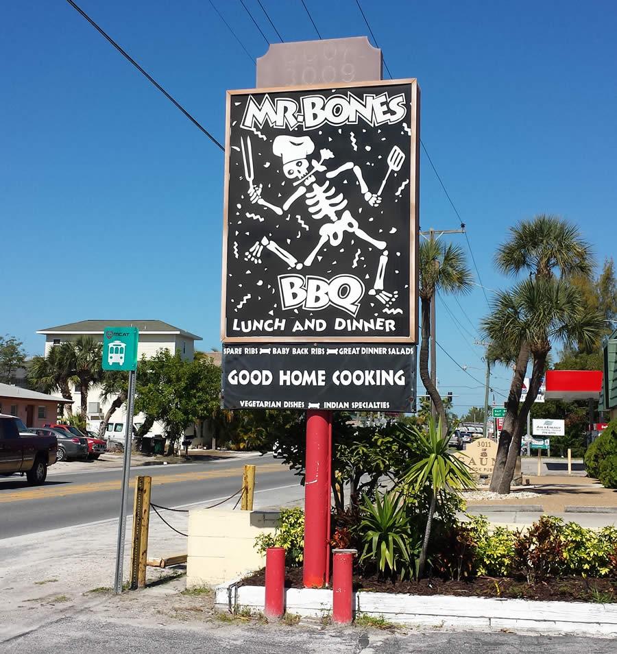 Mr. Bones in Anna Maria Island, Florida