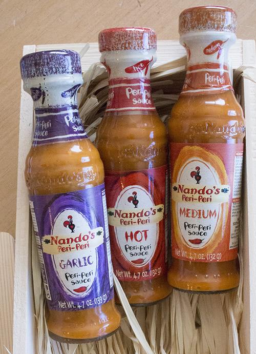 Nando's Peri Peri Sauces