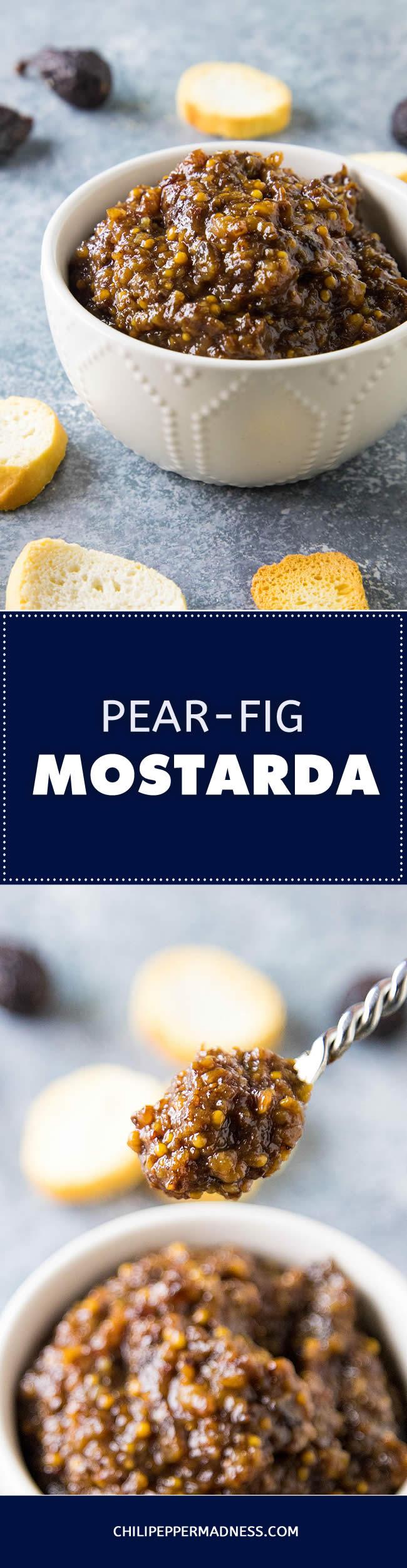 Pear-Fig Mostarda - Recipe