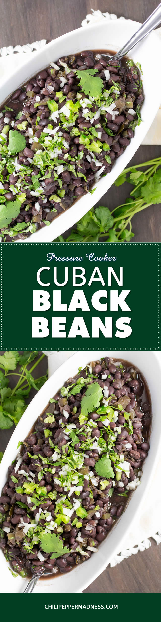 Pressure Cooker Cuban Black Beans - Recipe