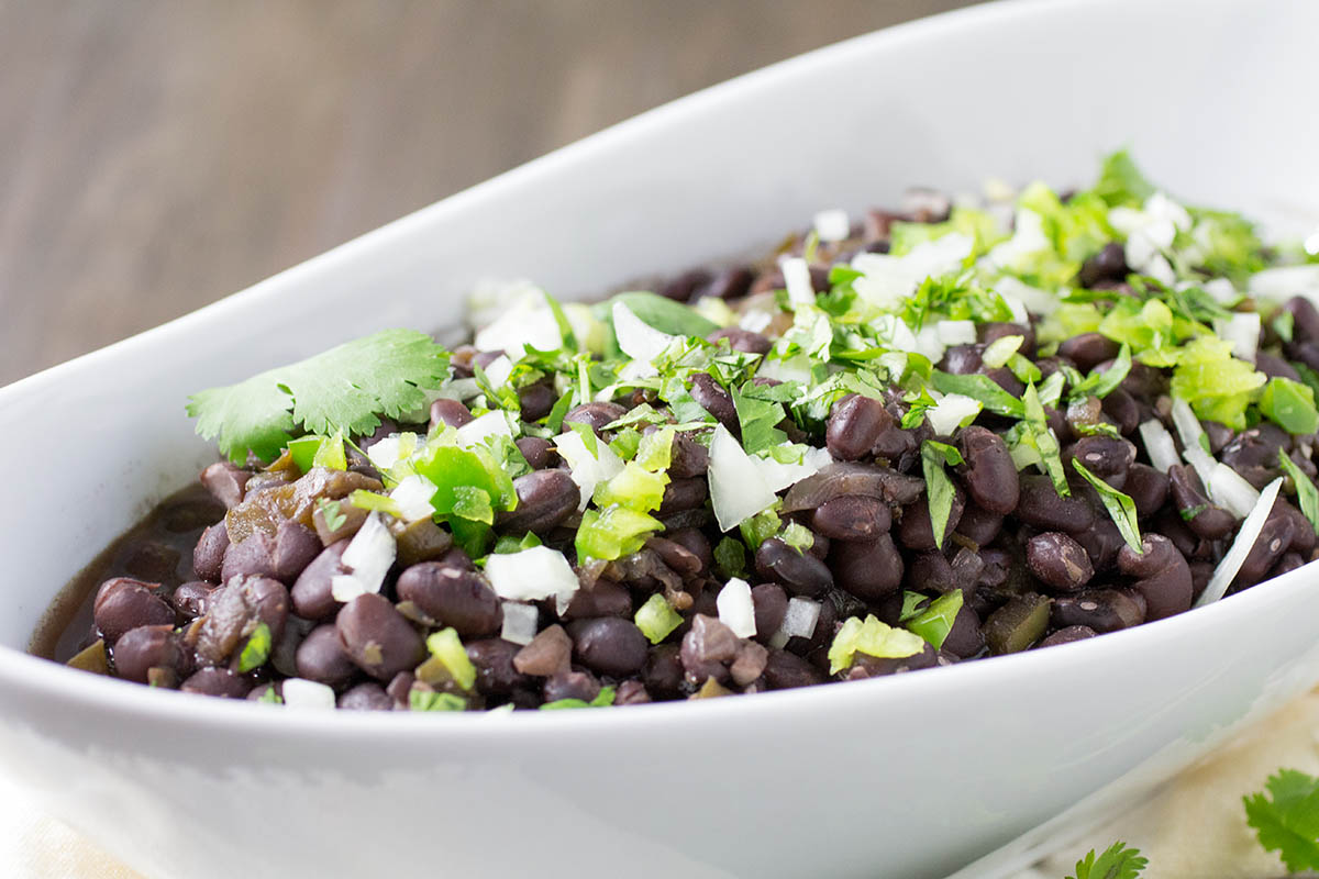 Pressure Cooker Cuban Black Beans – Recipe