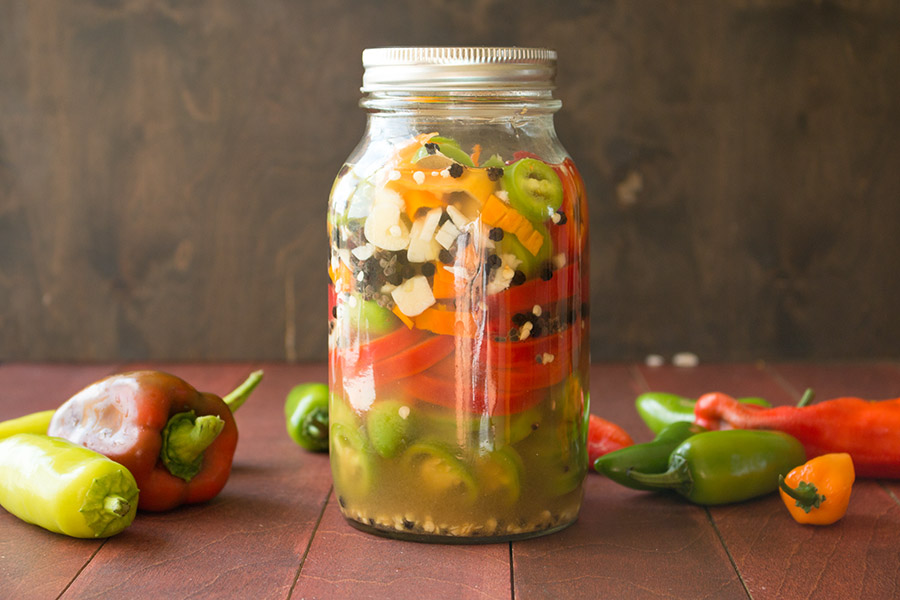 Refrigerator Pickled Peppers – Recipe