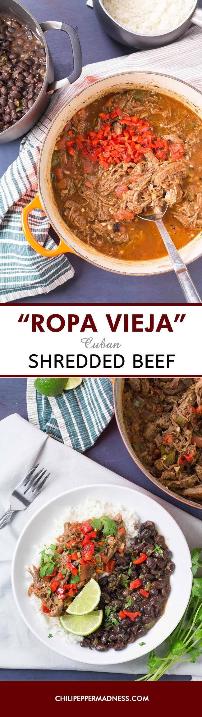 Ropa Vieja - Cuban Shredded Beef - Recipe