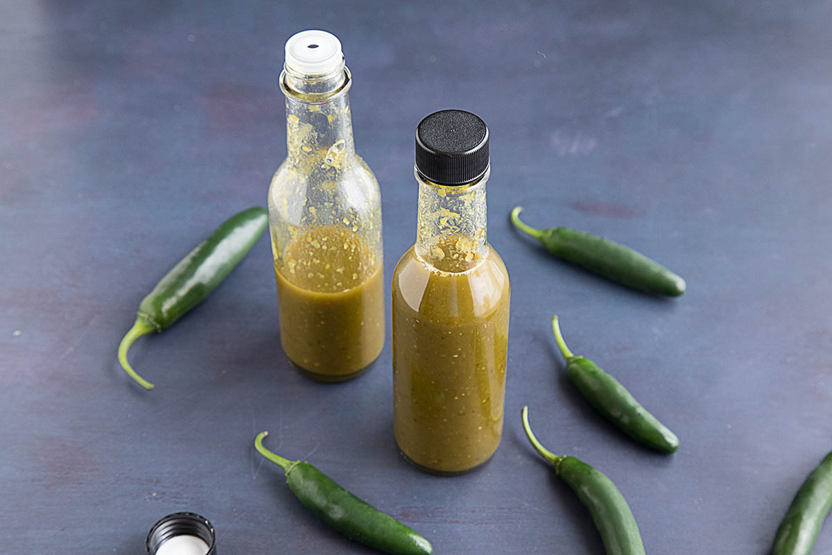 Spicy Serrano Hot Sauce – Recipe