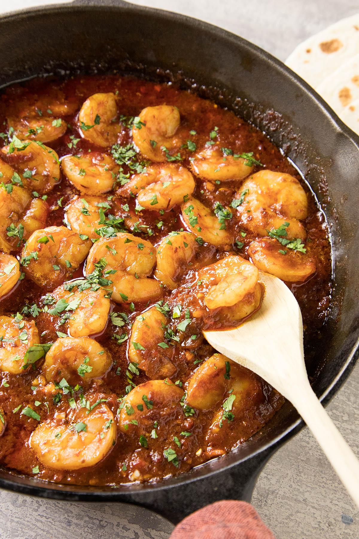 Shrimp Chipotle Bourbon Butter Sauce