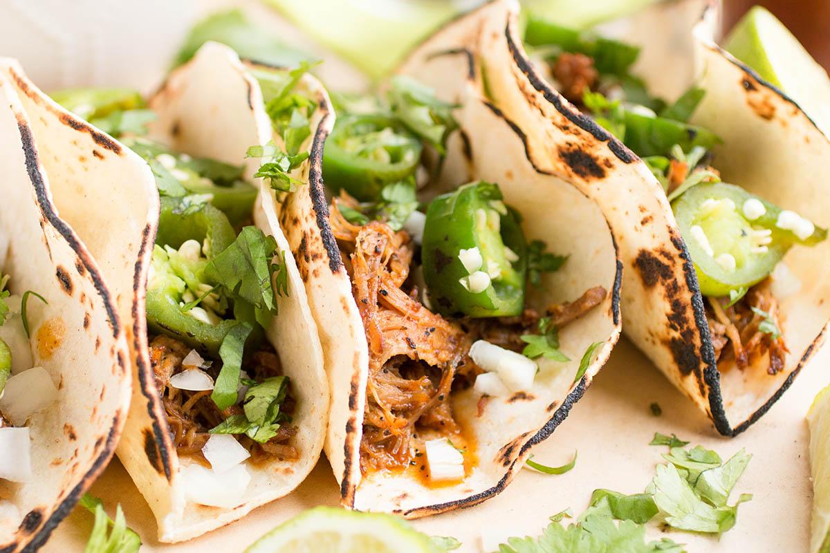Slow Cooker Pork Carnitas (Crispy Mexican Pulled Pork Tacos) - Recipe