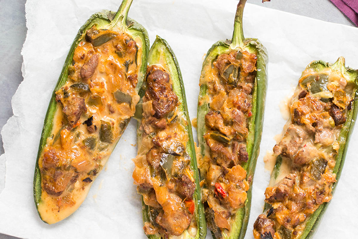 South Philly Cheesesteak Jalapeno Poppers– Recipe