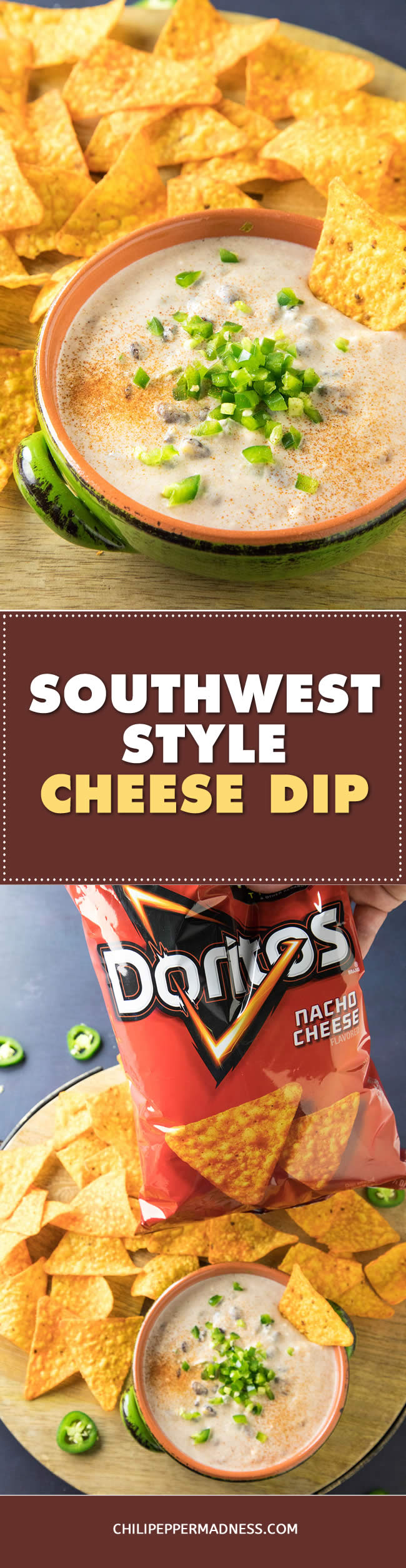 Southwest-Style Cheese Dip - Recipe