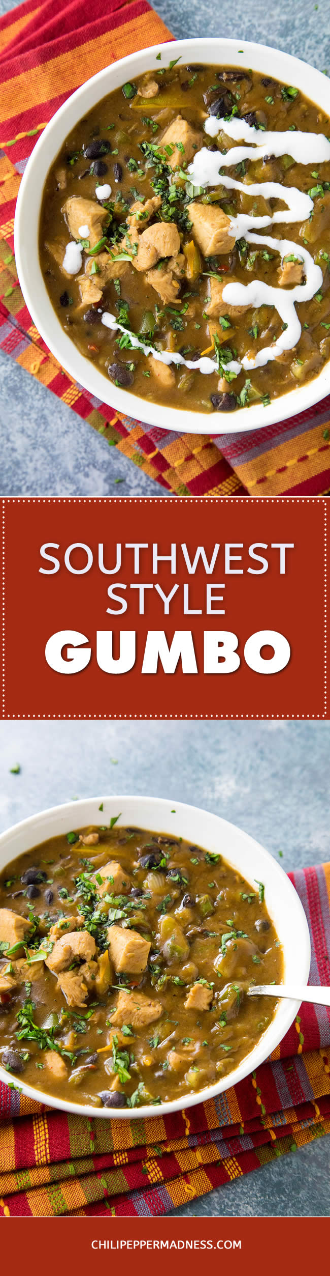 Southwest Style Chicken Gumbo - Recipe