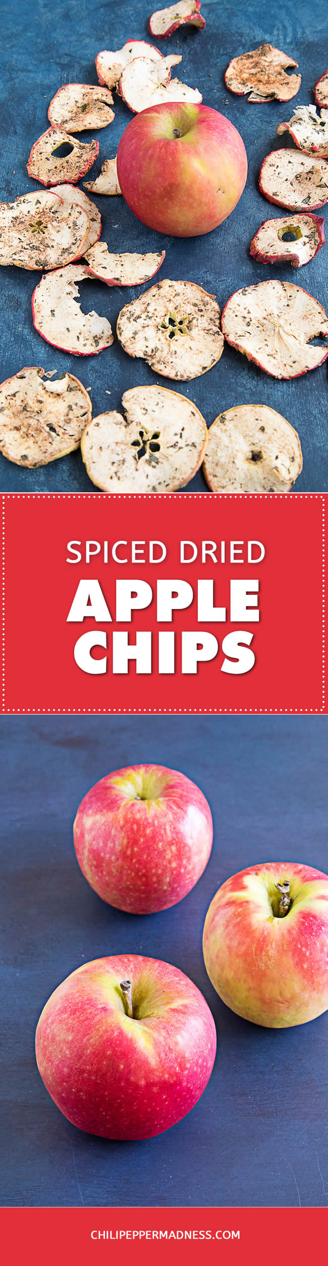 Spiced Dried Apple Chips - Recipe