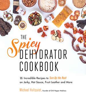 Spicy Dehydrator Cookbook Coverx300