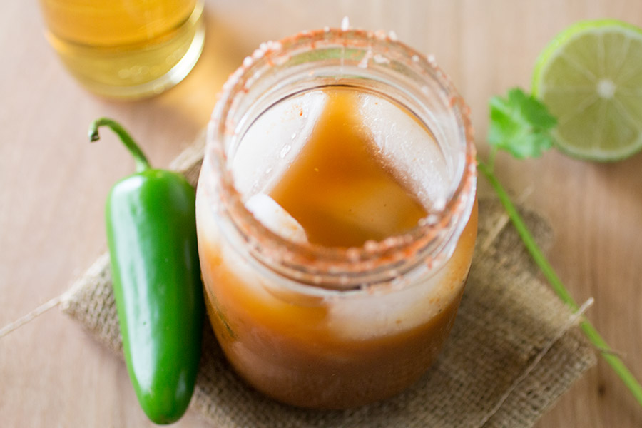 Spicy Mexican-Style Bloody Mary Mix Recipe