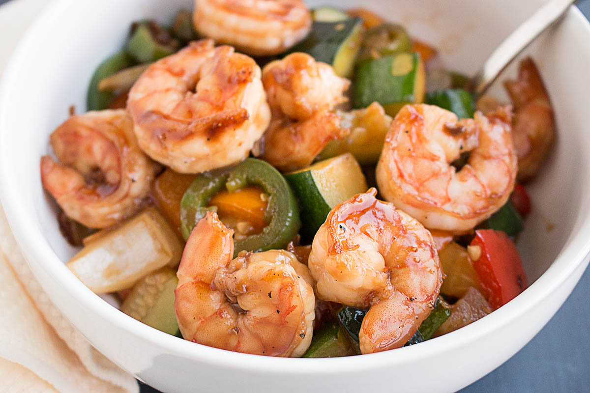 Spicy Teriyaki Shrimp Stir Fry – Recipe
