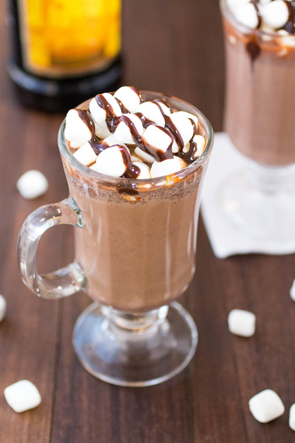 Spiked Mexican Hot Chocolate - Recipe