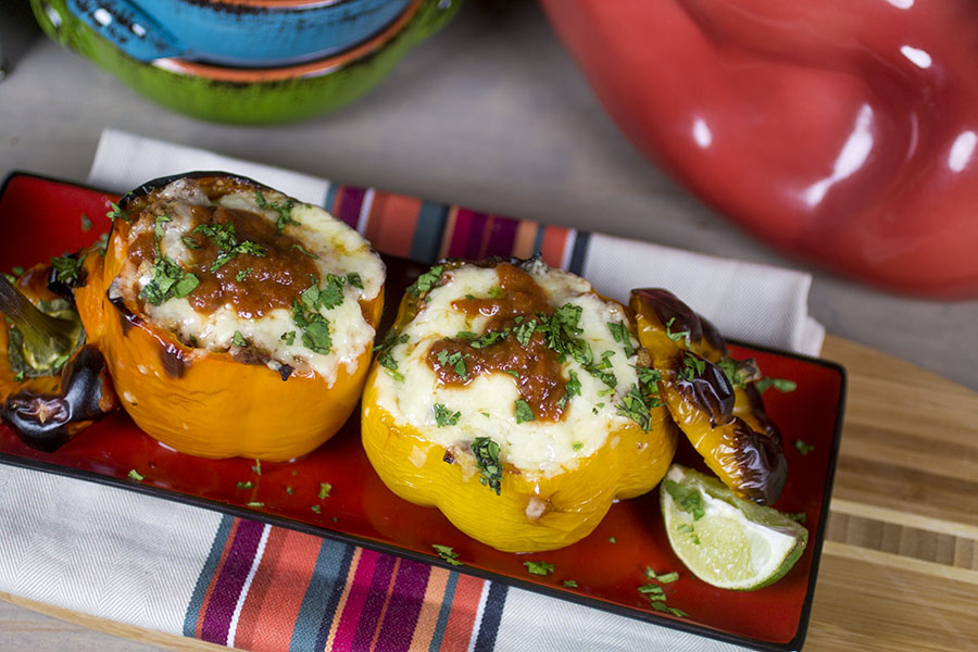 Taco Style Stuffed Bell Peppers
