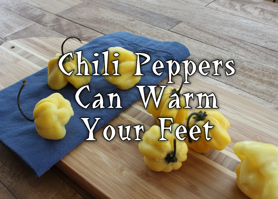 Chili Peppers Can Warm Your Feet