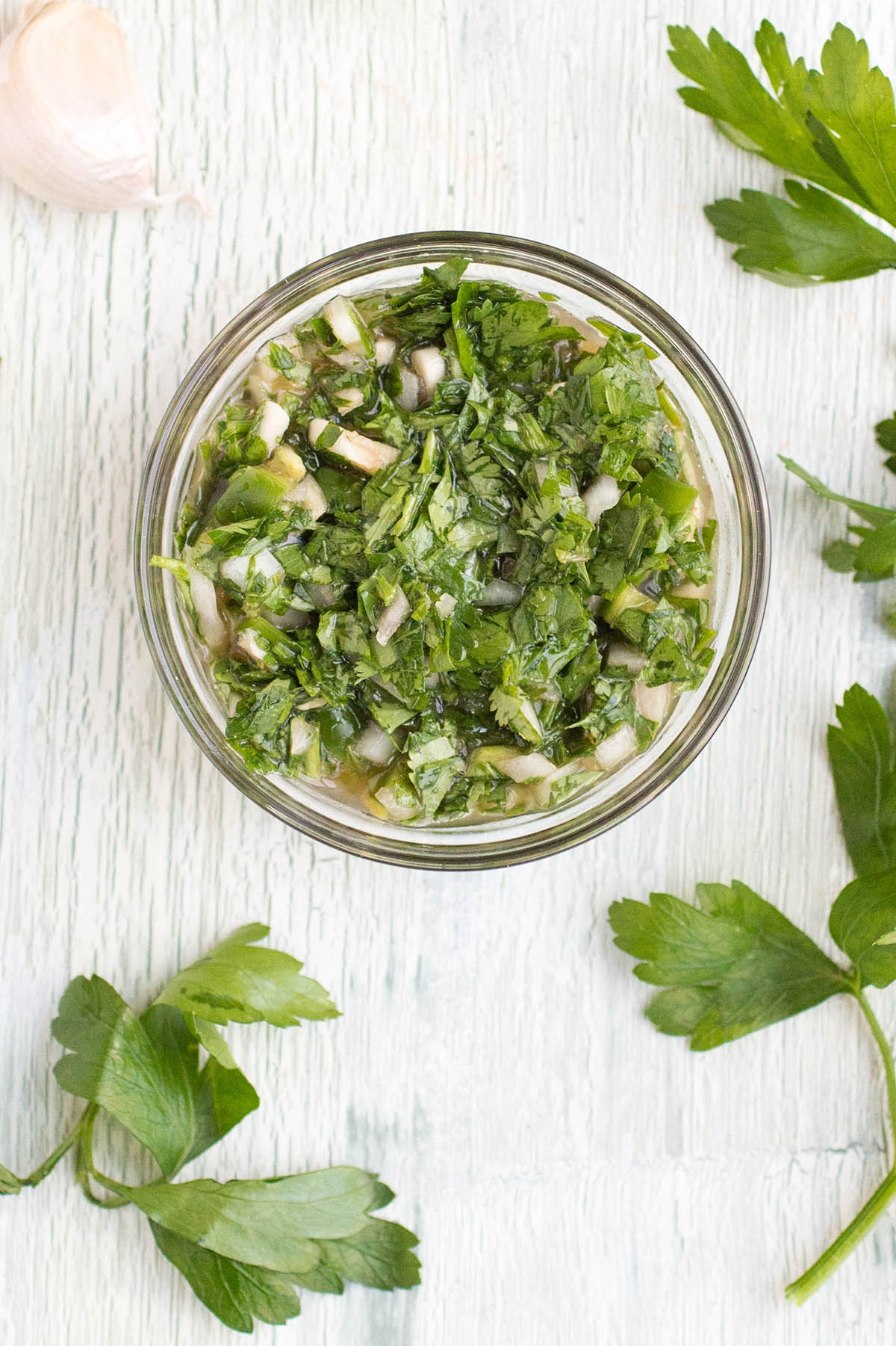 Chimichurri Sauce Recipe (Chimichurri Verde)