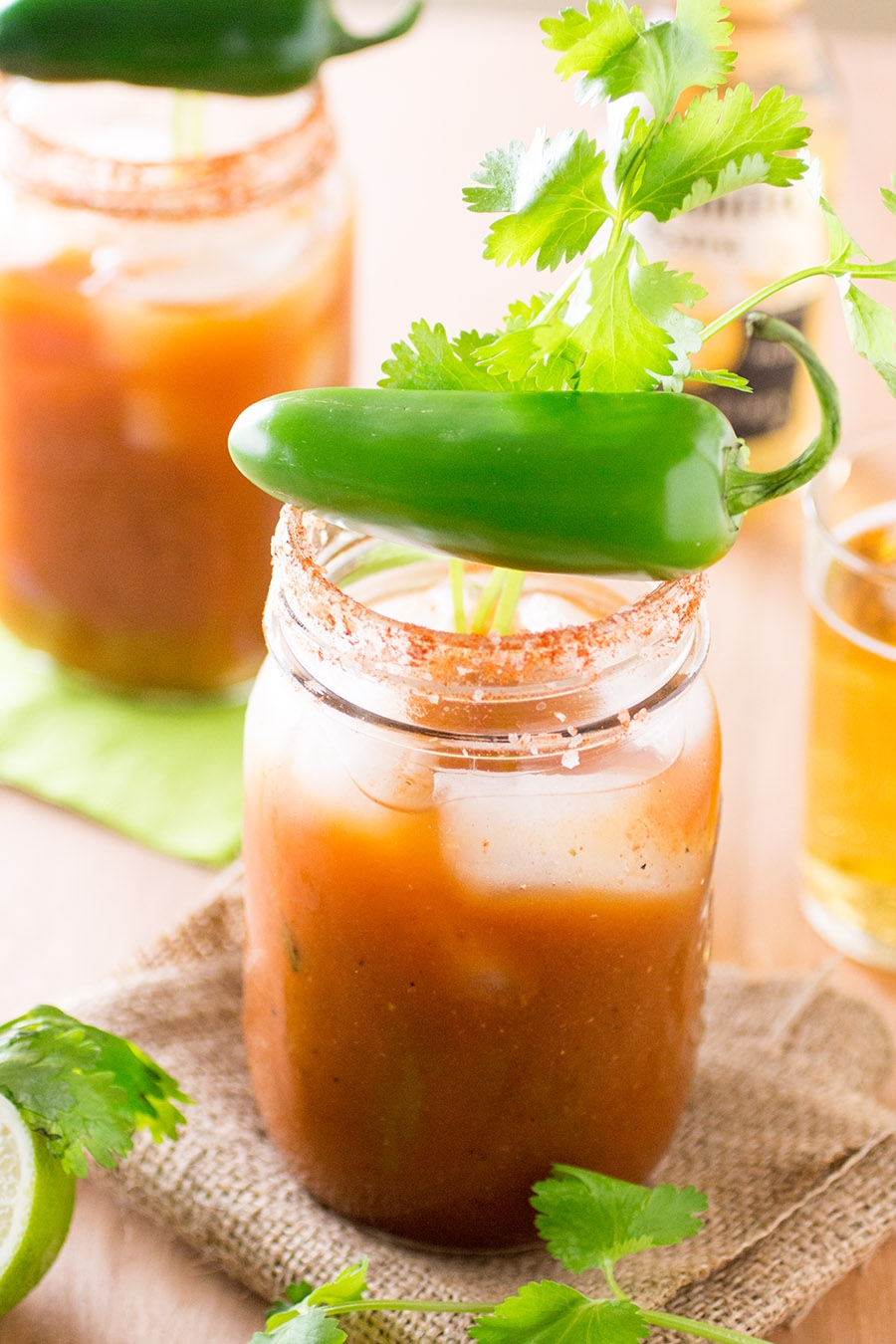 Spicy Mexican-Style Bloody Mary Mix