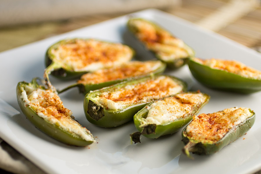 Four Cheese Jalapeno Poppers - The Recipe